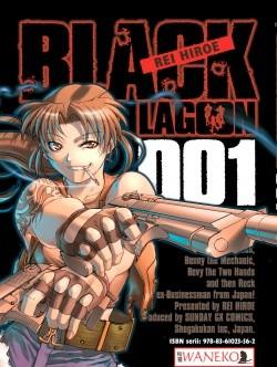 Okładka książki Black Lagoon. Tom 1