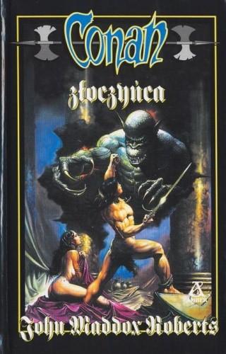 Okładka książki Conan złoczyńca