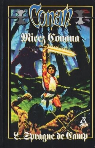 Okładka książki Miecz Conana