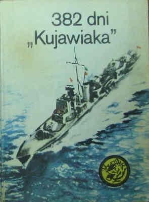 """Okładka książki 382 dni """"Kujawiaka"""""""