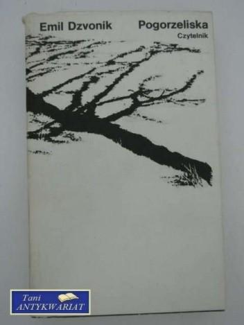Okładka książki Pogorzeliska