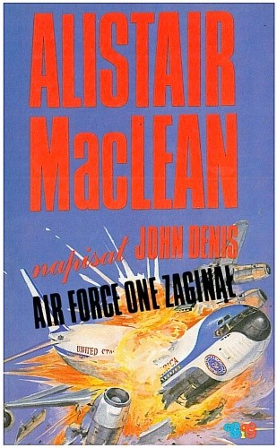 Okładka książki Air Force One zaginął