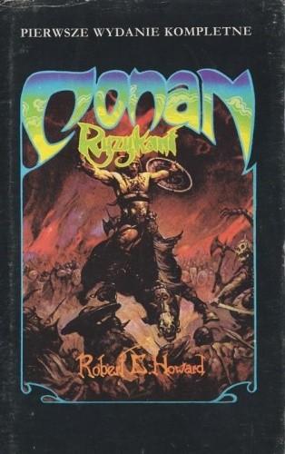 Okładka książki Conan ryzykant