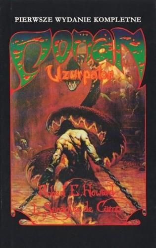 Okładka książki Conan uzurpator