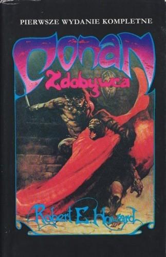 Okładka książki Conan zdobywca