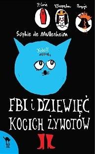 Okładka książki FBI i dziewięć kocich żywotów