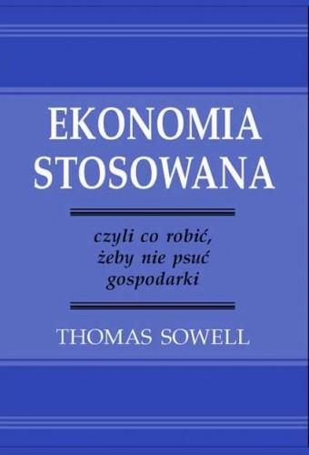 Okładka książki Ekonomia stosowana