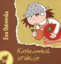 Okładka książki Kindziombal atakuje