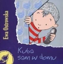 Okładka książki Kuba sam w domu