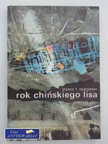 Okładka książki Rok chińskiego lisa
