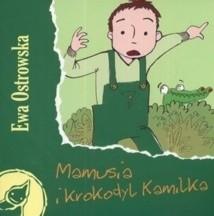 Okładka książki Mamusia i krokodyl Kamilka