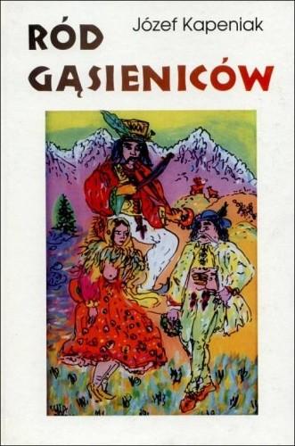 Okładka książki Ród Gąsieniców