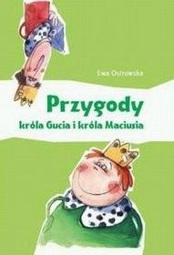 Okładka książki Przygody króla Gucia i króla Maciusia