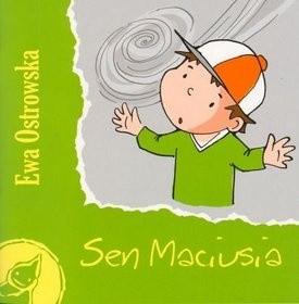 Okładka książki Sen Maciusia