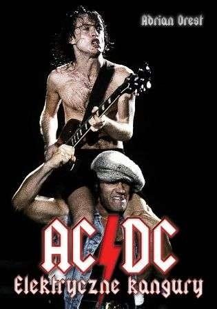 Okładka książki AC/DC Elektryczne Kangury