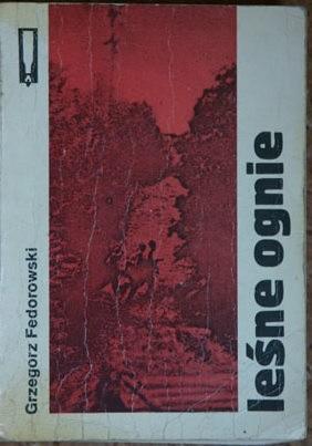 Okładka książki Leśne ognie