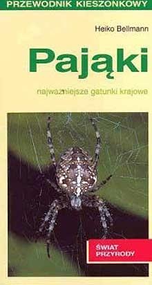 Okładka książki Pająki. Najważniejsze gatunki krajowe