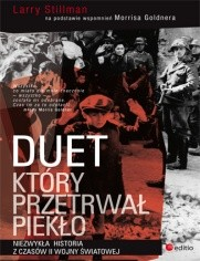 Okładka książki Duet, który przetrwał piekło. Niezwykła historia z czasów II wojny światowej