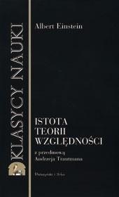 Okładka książki Istota teorii względności