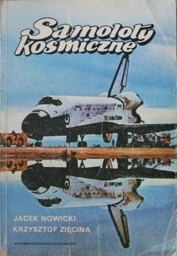 Okładka książki Samoloty kosmiczne