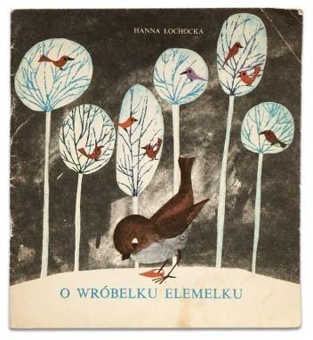 Okładka książki O wróbelku Elemelku
