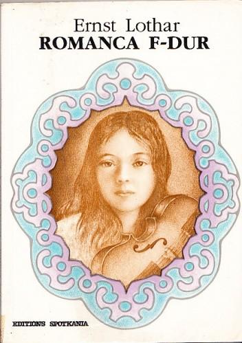 Okładka książki Romanca F-Dur