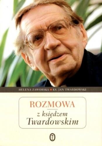 Okładka książki Rozmowa z księdzem Twardowskim