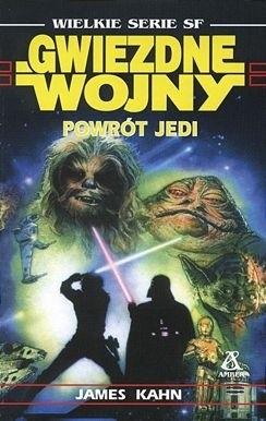 Okładka książki Gwiezdne wojny. Powrót Jedi