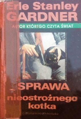 Okładka książki Sprawa nieostrożnego kotka