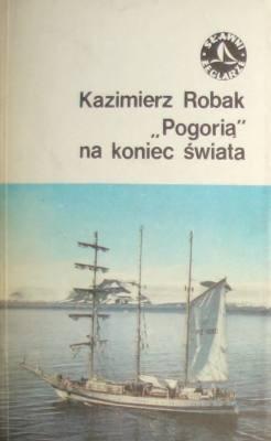 """Okładka książki """"Pogorią"""" na koniec"""