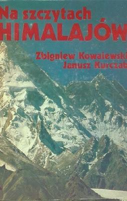 Okładka książki Na szczytach Himalajów