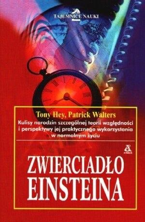 Okładka książki Zwierciadło Einsteina
