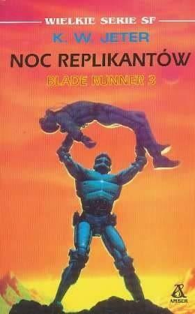 Okładka książki Noc replikantów
