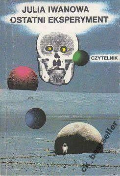 Okładka książki Ostatni eksperyment