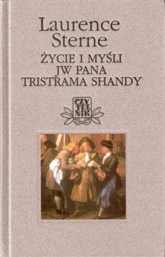 Okładka książki Życie i Myśli JW Pana Tristrama Shandy