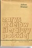 Okładka książki Zarys dziejów literatury polskiej