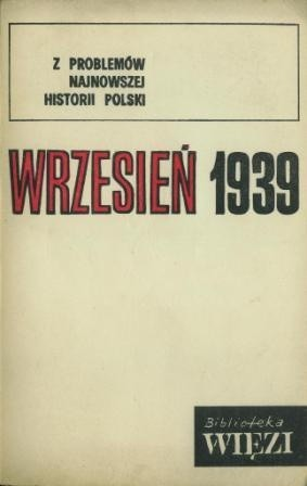 Okładka książki Wrzesień 1939