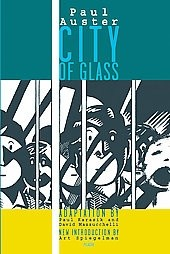 Okładka książki City of Glass: The Graphic Novel