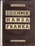 Okładka książki Dziennik Hansa Franka