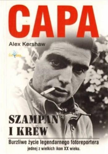 Okładka książki Capa. Szampan i krew