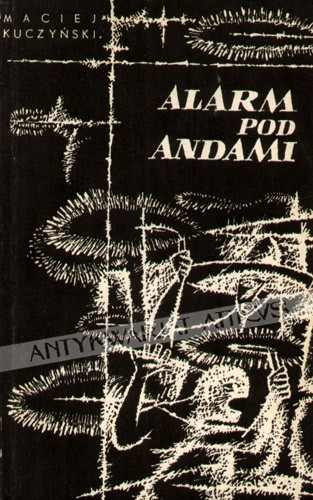 Okładka książki Alarm pod andami