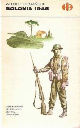 Okładka książki Bolonia 1945