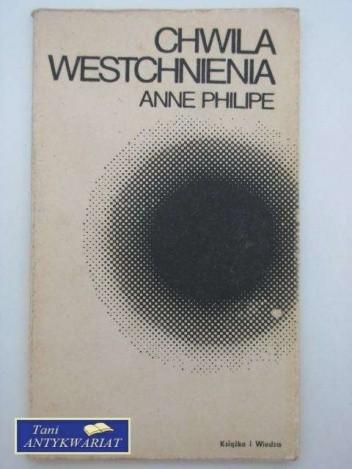 Okładka książki Chwila westchnienia