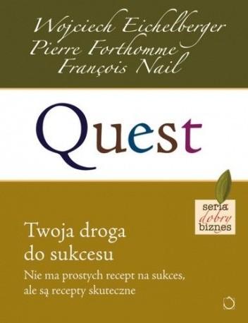 Okładka książki Quest. Twoja droga do sukcesu
