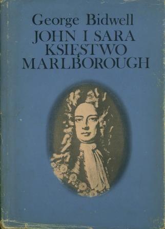 Okładka książki John i Sara Księstwo Marlborough