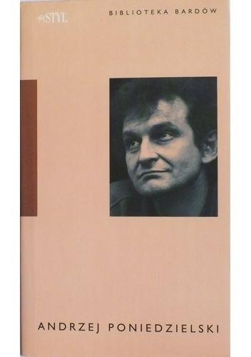 Okładka książki Andrzej Poniedzielski