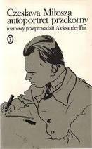 Okładka książki Czesława Miłosza autoportret przekorny. Rozmowy.