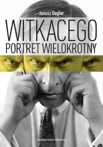 Okładka książki Witkacego portret wielokrotny