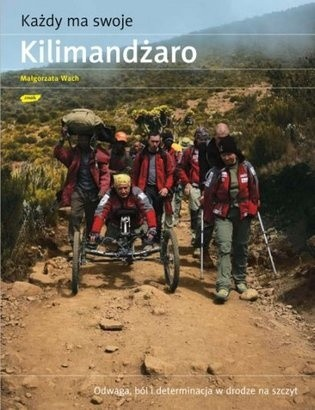 Okładka książki Każdy ma swoje Kilimandżaro
