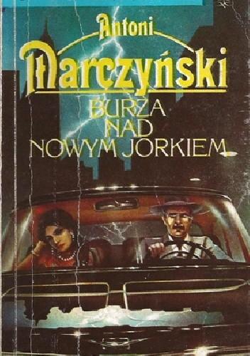 Okładka książki Burza nad Nowym Jorkiem